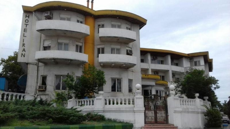 هتل ایران بندر انزلی
