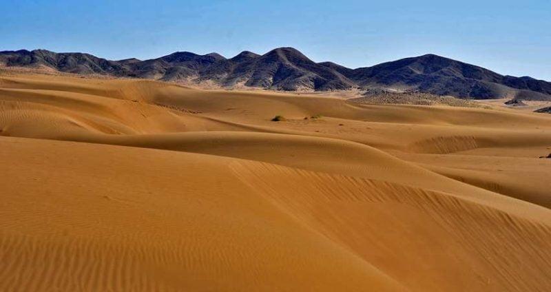 بازگشایی مسیر کویر مرنجاب پس از چند روز