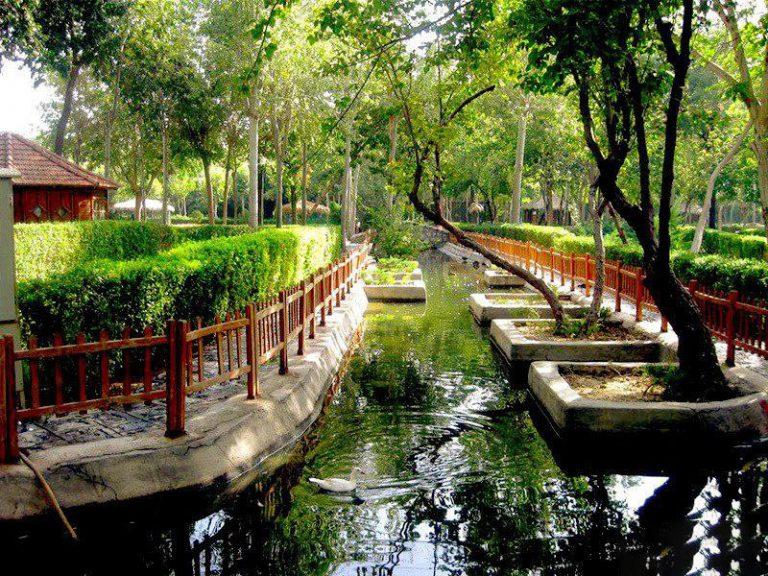 باغ پرندگان جاهای دیدنی اصفهان (100 جاذبه گردشگری اصفهان)