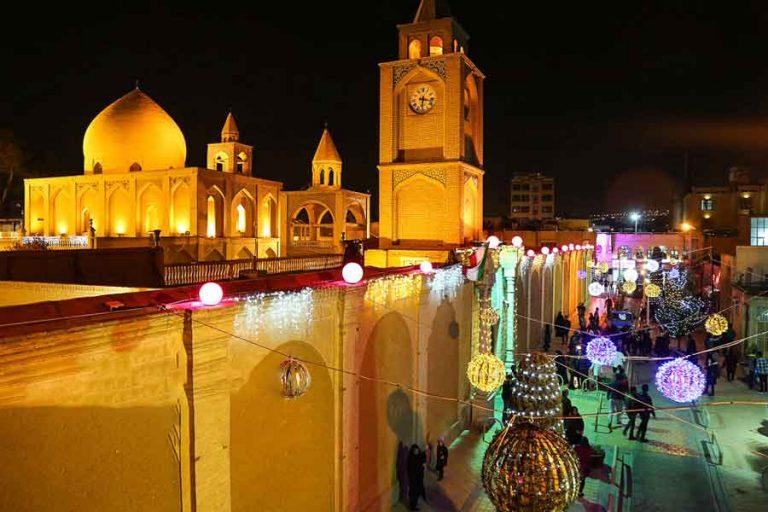 محله جلفا جاهای دیدنی اصفهان (100 جاذبه گردشگری اصفهان)