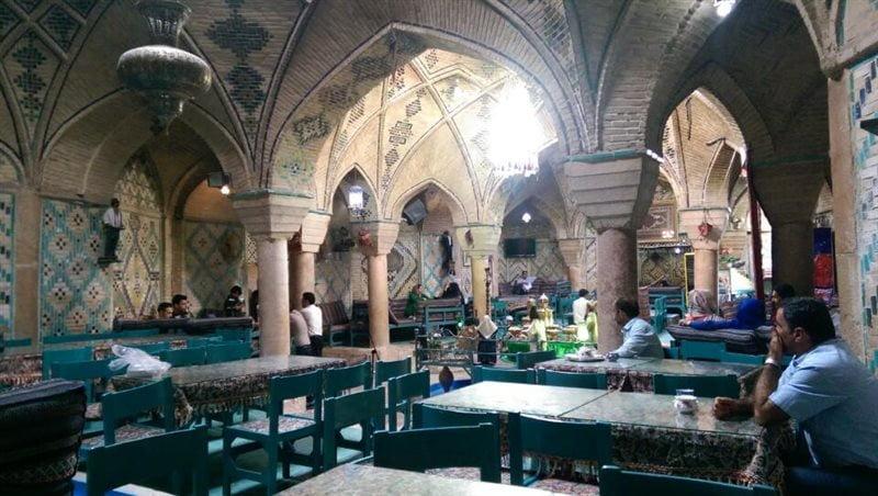 رستوران سنتی وکیل شیراز