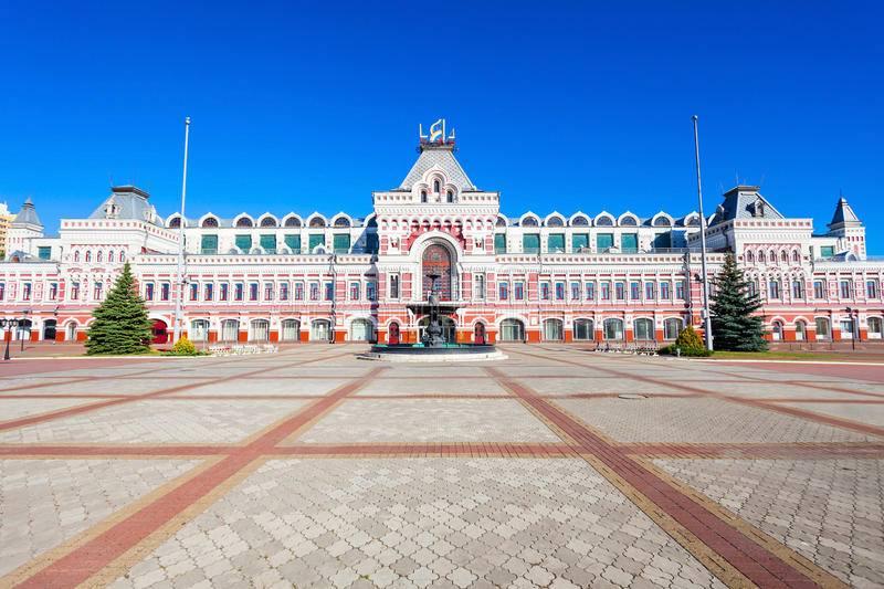 مرکز نمایشگاهی  راهنمای سفر به نیژنی نووگورود