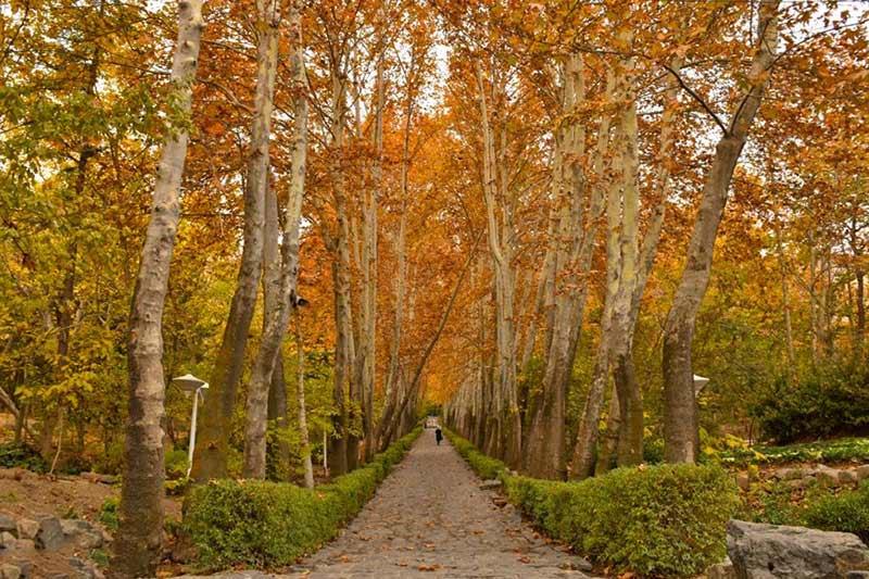 جاهای دیدنی تهران در پاییز