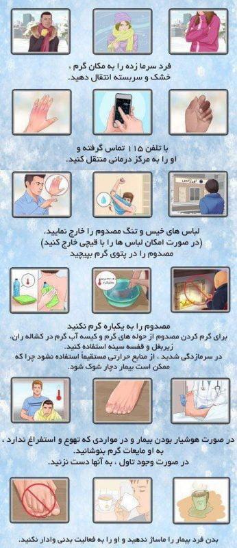 راهنمای کاربردی کمپینگ ( سرمازدگی )