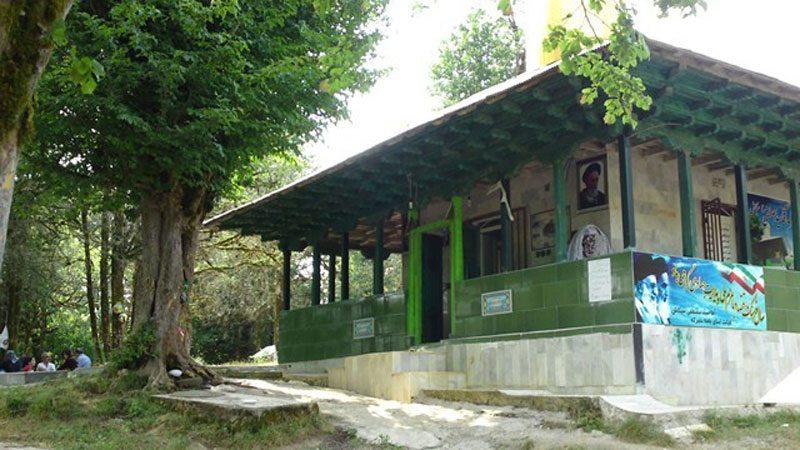 امامزاده مصطفی 800x450 - جاهای دیدنی سیاهکل در پاییز