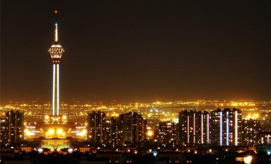 گردشگری شبانه در تهران