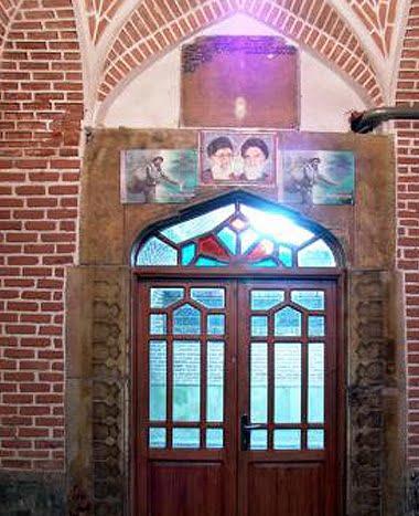 ظهیریه - جاهای دیدنی تبریز در پاییز