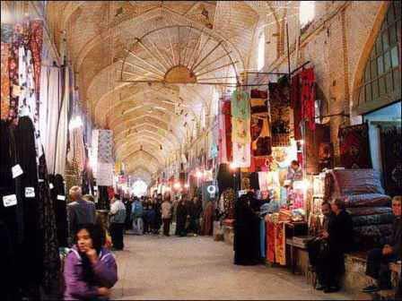 قیصریه 1 - جاهای دیدنی اصفهان در پاییز