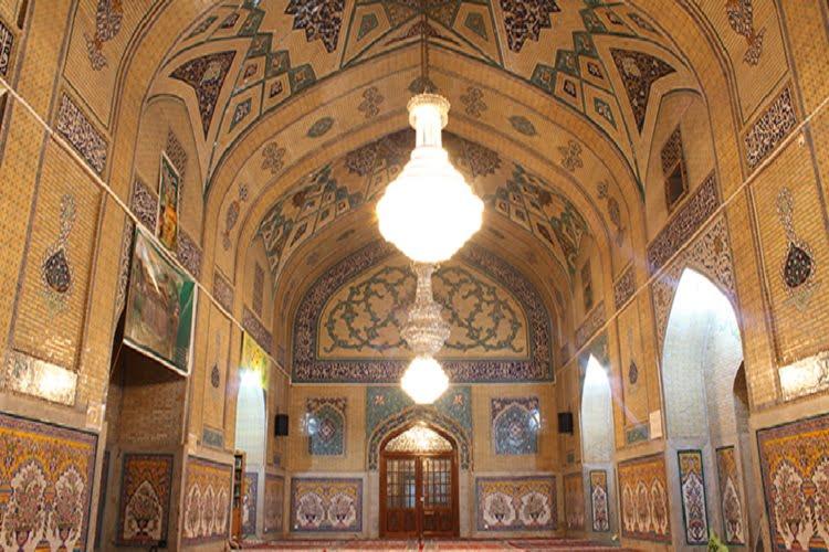 مدرسه میرزا جعفر جاهای دیدنی مشهد ،100 جاذبه گردشگری معروف
