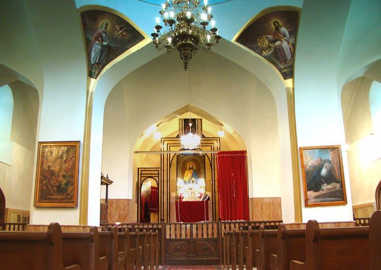مریم مقدس - جاهای دیدنی تبریز در پاییز