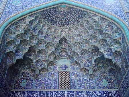 مسجد امام - جاهای دیدنی اصفهان در پاییز