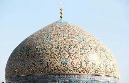 مسجد شيخ لطف اله اصفهان - جاهای دیدنی اصفهان در پاییز