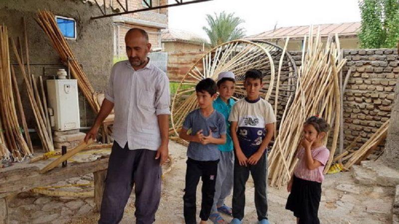 یک روحانی؛ آخرین بازمانده آلاچیقسازی ترکمن