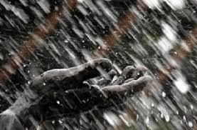 رسم قربانی برای ريزش باران
