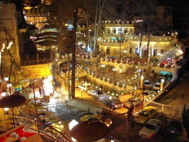 جاهای دیدنی تهران در شب  جاهای دیدنی تهران در شب
