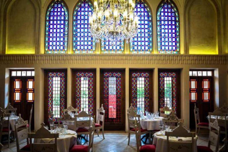 رستوران تالار آینه سرای عامریها