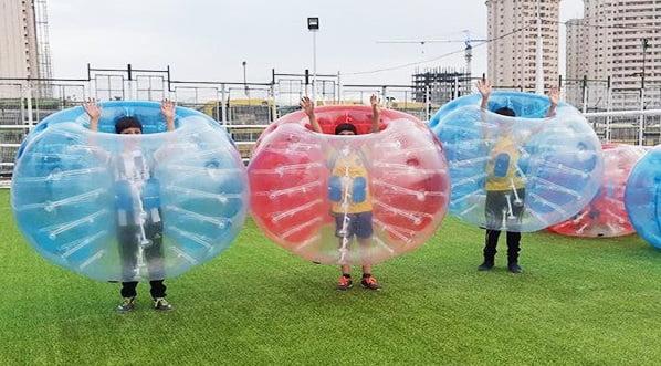 فوتبال حبابی