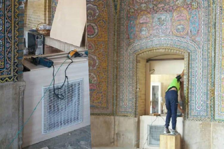 تجددگرایی در مسجد نصیرالملک شیراز