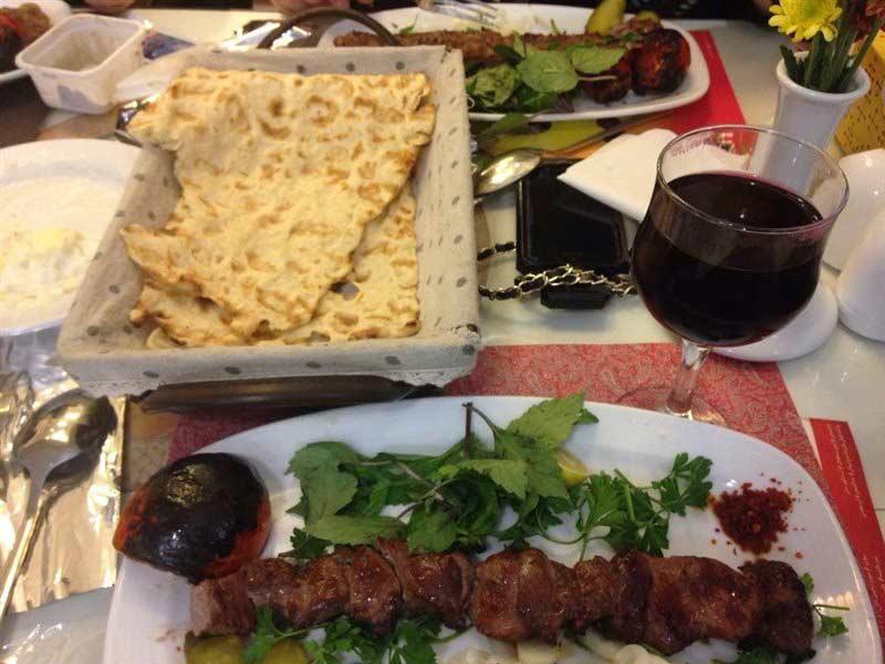 ریحان  بهترین رستوران های تبریز