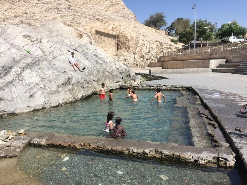 500 متر از عرصه تاریخی چشمه علی آزادسازی شد