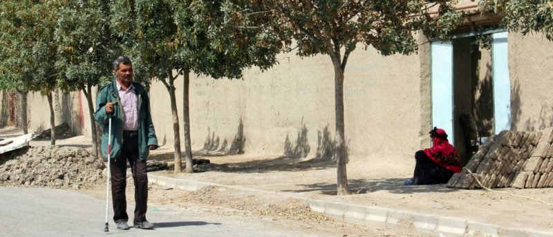 چهاربرج روستای نابینایان