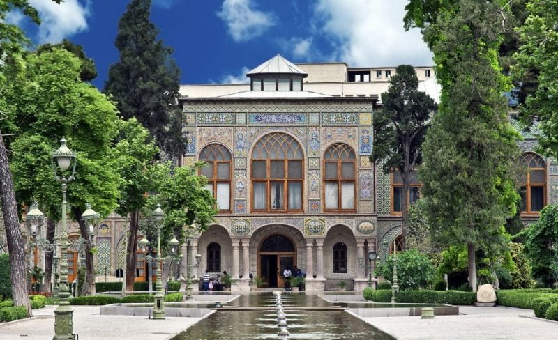 کاخ گلستان معرفی 10 کاخ سلطنتی و دیدنی تهران