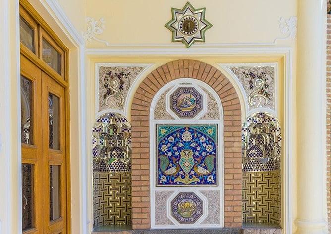 کافه باغ موزه مقدم تهران  کافه باغ موزه مقدم تهران