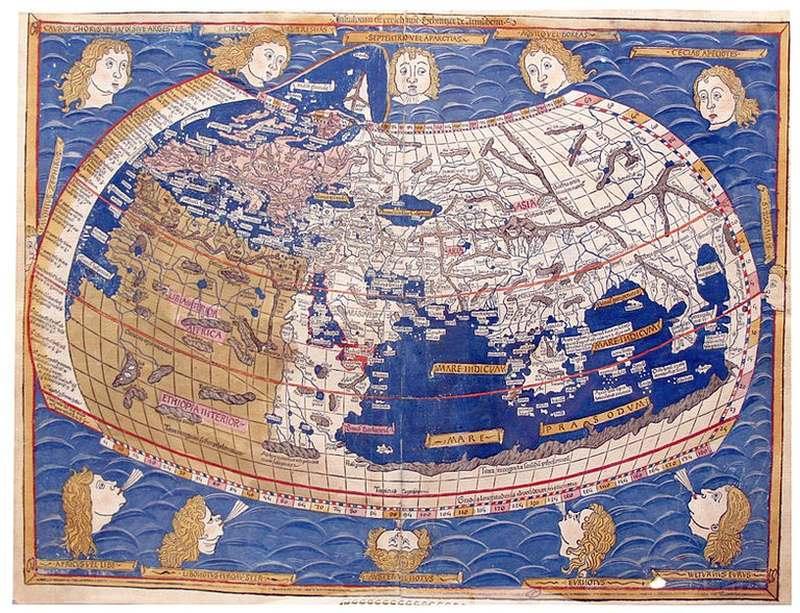 اولین نقشه های جهان