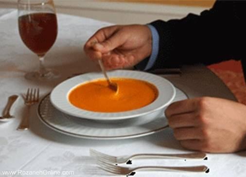 آداب غذا خوردن 2
