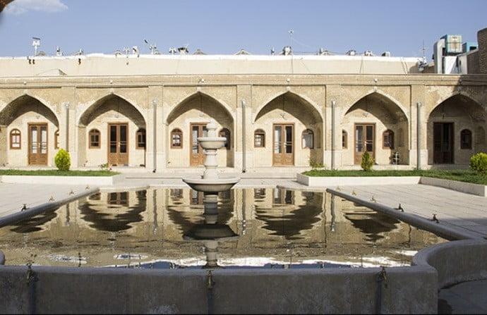 مسجد چهل ستون زنجان