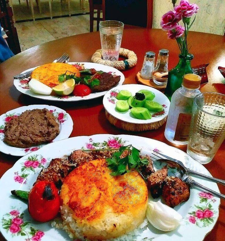 رستورانهای ایرانی که ظروف خاصی برای سرو دارند