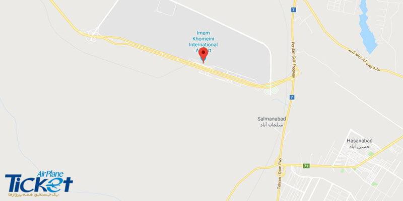معرفی فرودگاه بین المللی امام خمینی IKA تهران