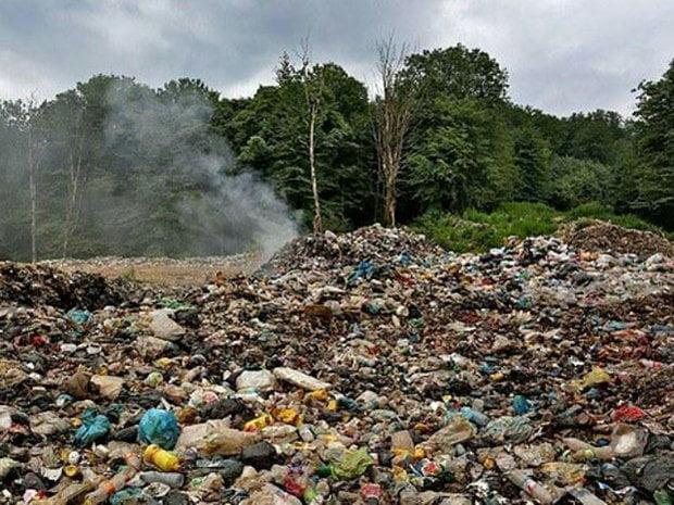 جنگل های هیرکانی رامسر در سیطره زباله