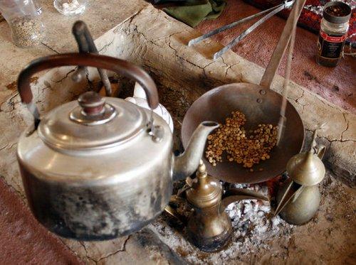 قهوه در مراسم عزاداری