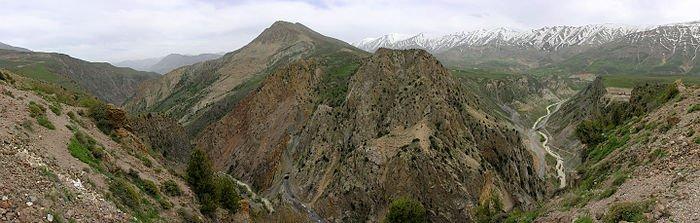 کوهستانهای گرم و مرطوب دریای خزر