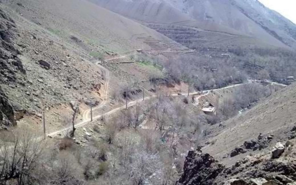 جاده قدیم امامزاده داوود