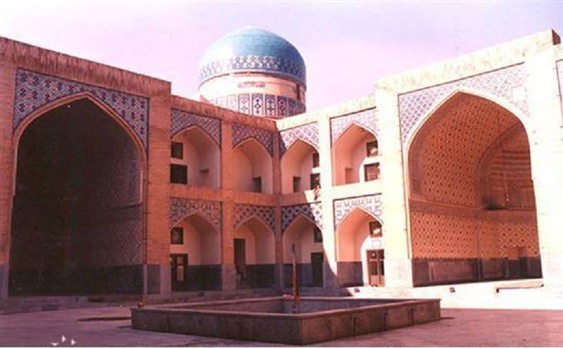 مدرسه دودر مشهد جاهای دیدنی مشهد ،100 جاذبه گردشگری معروف