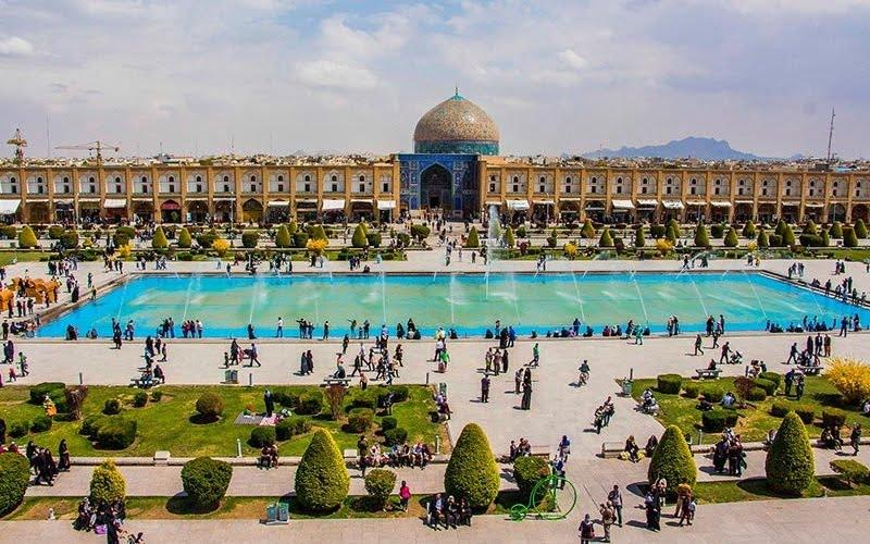 جاهای دیدنی اصفهان در نوروز