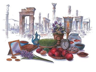 نوروز نمادی بنيادين از فرهنگ ديرسال ايرانيان