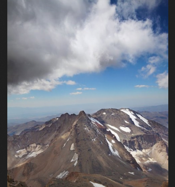 کوه هرم داغ