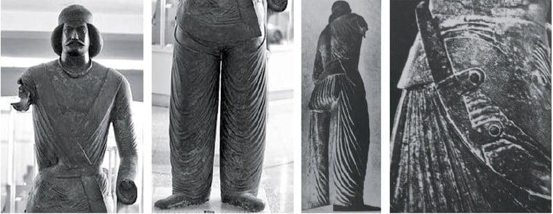 لباس و پوشاک مردان اشکانی
