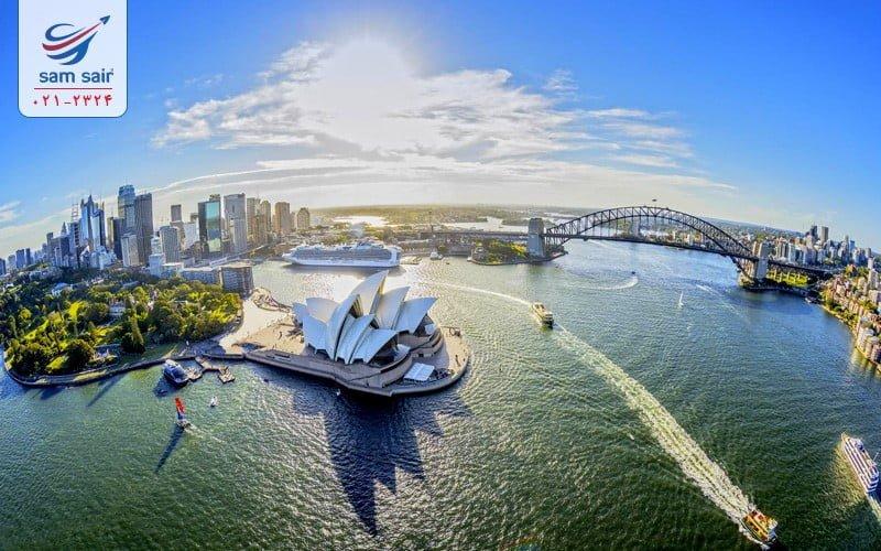 -استرالیا انتخاب بهترین گزینه های تفریح در تور مالدیو،آفریقا و استرالیا