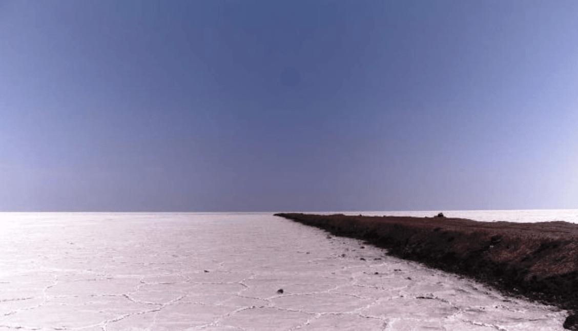 درياچه نمک دامغان