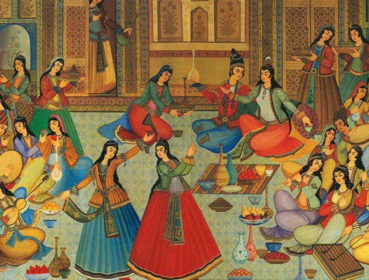 شادی در فرهنگ ایران باستان