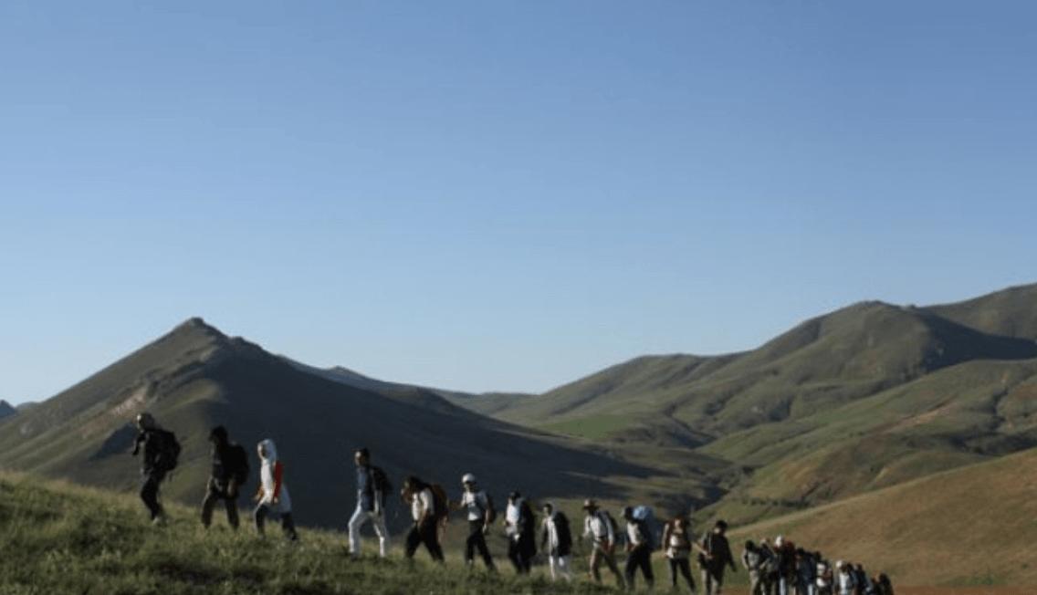 قله تکه قيه سی زنجان