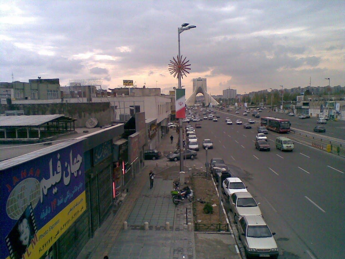 -آزادی-تهران-4 خیابان آزادی تهران