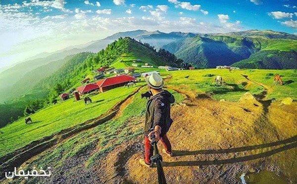 بهترین مکان برای تور طبیعت گردی کجاست؟