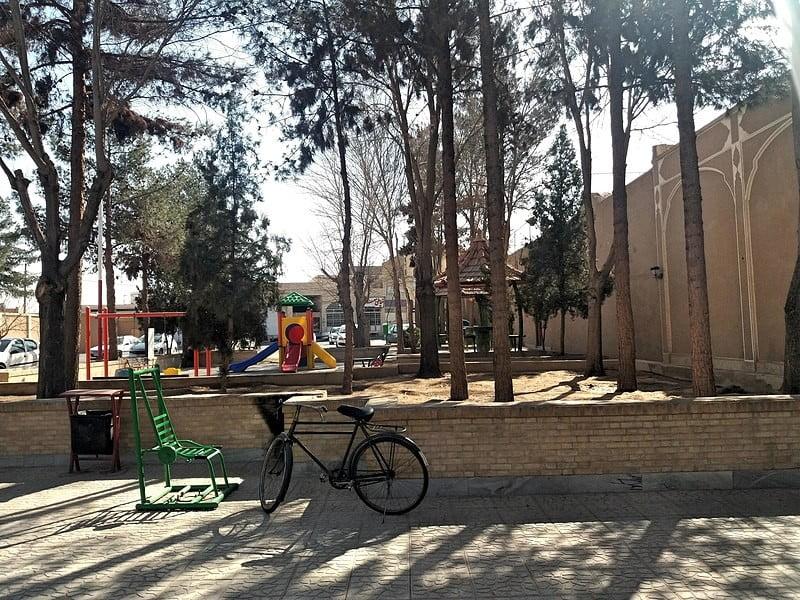 محله پشت باغ یزد