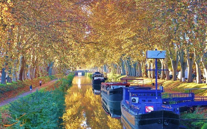 -میدی از کانال زیبای میدی در گردشگری تور فرانسه بدانید...