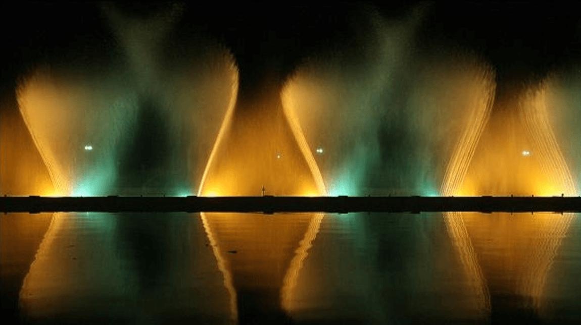 آبنمای موزیکال پارک ملت تهران
